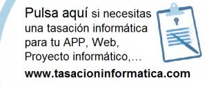 banner tasacion informatica 300x126 - ¿Cómo te puede ayudar una tasación informática para optar a una ayuda del Ministerio?
