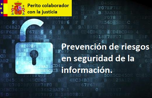 Prevención riesgos seguridad información e informática - ISO27001